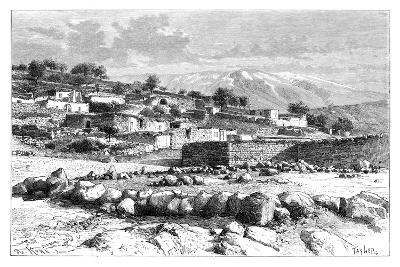Mount Hermon, Syria, 1895-Armand Kohl-Giclee Print