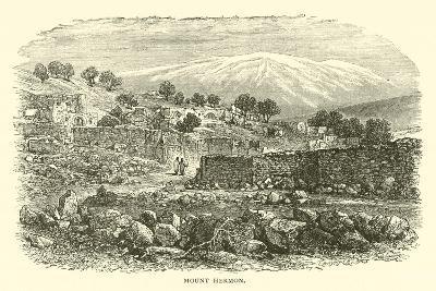 Mount Hermon--Giclee Print