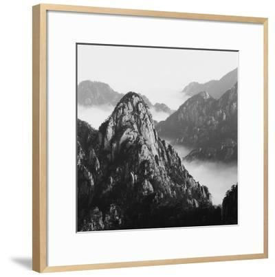 Mount Huangshan 10-Mel Hwang-Framed Art Print