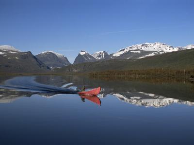 Mount Kebnekaise, Sweden's Highest, Laponia, Unesco World Heritage Site, Lappland, Sweden-Gavin Hellier-Photographic Print