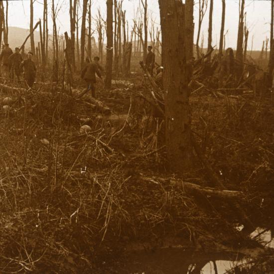 Mount Kemmel, Flanders, Belgium, c1914-c1918-Unknown-Photographic Print