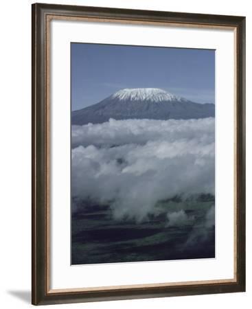 Mount Kilimanjaro, Kenya, East Africa, Africa-Robert Harding-Framed Photographic Print