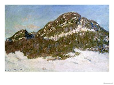 Mount Kolsaas in Sunlight, 1895-Claude Monet-Giclee Print