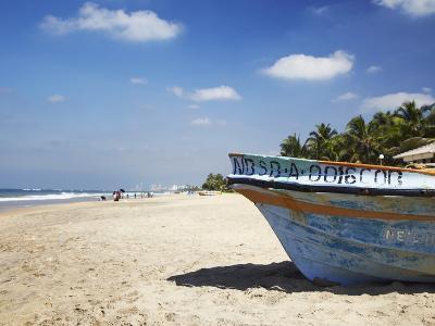 Mount Lavinia Beach, Mount Lavinia, Colombo, Sri Lanka, Asia-Ian Trower-Photographic Print