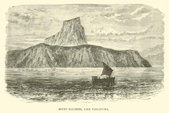 Mount Malommbi, Lake Tanganyika--Giclee Print