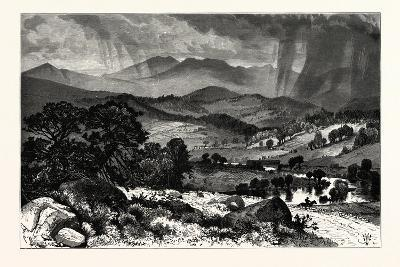 Mount Mansfield, from Rice's Hill. Mount Mansfield Is the Highest Mountain in Vermont, Usa--Giclee Print