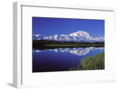 Mount Mckinley Reflected in Pond Denali National
