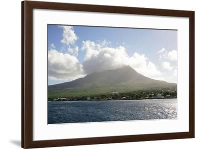 Mount Nevis, St. Kitts and Nevis, Leeward Islands, West Indies, Caribbean, Central America-Robert Harding-Framed Photographic Print
