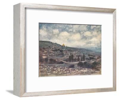 'Mount of Olives', 1903-Mortimer L Menpes-Framed Giclee Print