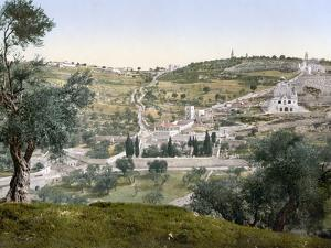 Mount Of Olives, C1900