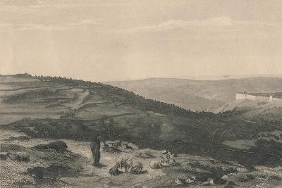 Mount of Olives & Valley of Jehoshaphat, 1871-D Mitchell-Giclee Print