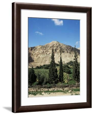 Mount of Temptation, Jericho, Israel, Middle East-Robert Harding-Framed Photographic Print