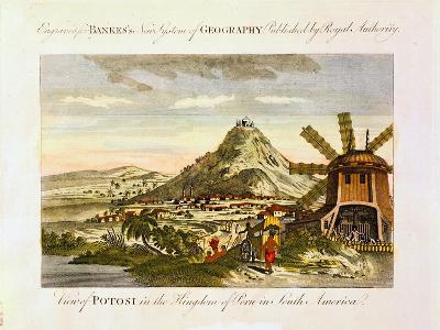 Mount Potosi, Bolivia, C1788--Giclee Print