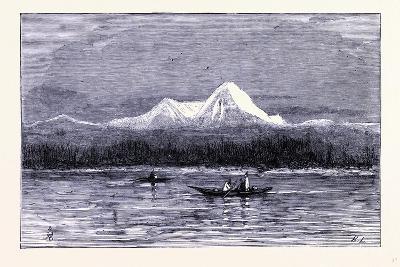 Mount Rainier United States of America--Giclee Print