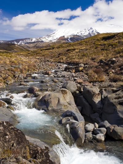 Mount Ruapehu, Tongariro National Park, UNESCO World Heritage Site, North Island, New Zealand, Paci-Ben Pipe-Photographic Print