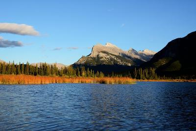 Mount Rundle and Vermilion Lakes in Autumn,Canadian Rockies,Canada-Tatsuo115-Photographic Print