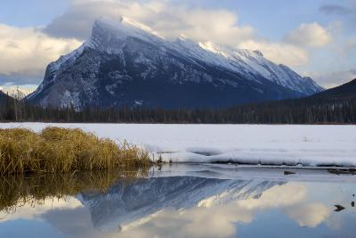 Mount Rundle and Vermillion Lake in Banff National Park-Paul Colangelo-Photographic Print