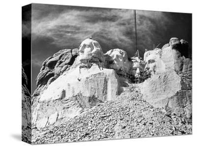 Mount Rushmore Construction