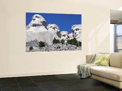 Mount Rushmore National Memorial, South Dakota, Usa-Stocktrek Images-Wall Mural