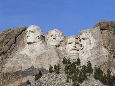Mount Rushmore National Monument, Keystone, South Dakota, USA-Walter Bibikow-Photographic Print