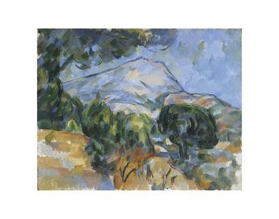Mount Sainte-Victorie, c.1904-Paul C?zanne-Art Print
