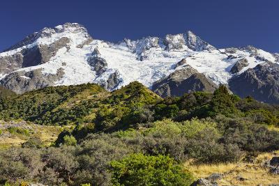 Mount Sefton, Mount Cook National Park, Canterbury, South Island, New Zealand-Rainer Mirau-Photographic Print
