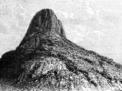 Mount Selkirk, Juan Fernandez Islands, 1895-T Taylor-Giclee Print