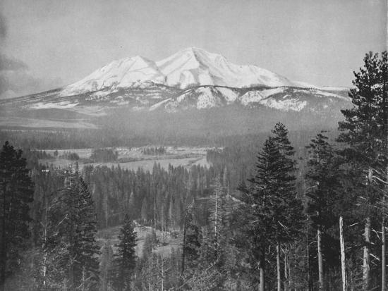 'Mount Shasta', 19th century-Unknown-Photographic Print