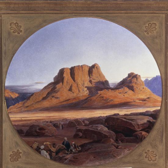 Mount Sinai, 1853-Edward Lear-Giclee Print
