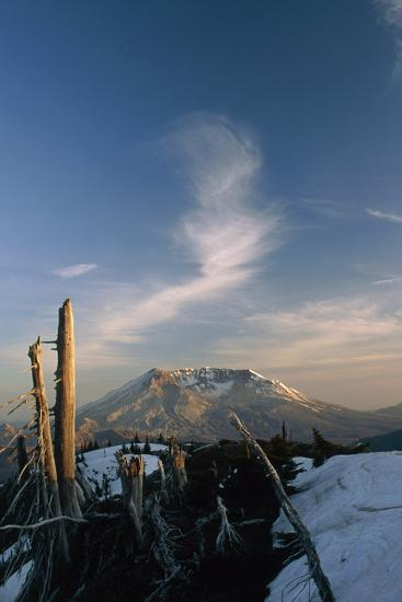 Mount St Helens Volcano-Alan Sirulnikoff-Photographic Print
