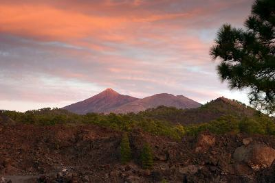 Mount Teide, Volcano on Tenerife, Canary Islands, 2007-Peter Thompson-Photographic Print