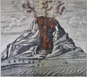Mount Vesuvius, 1665
