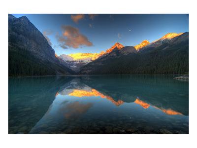 Mount Victoria Glacier Alberta--Art Print