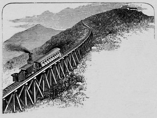 'Mount Washington Railway', 1883-Unknown-Giclee Print