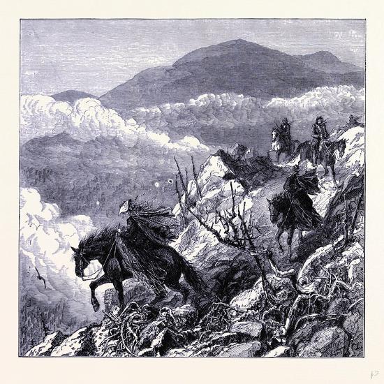 Mount Washington United States of America--Giclee Print