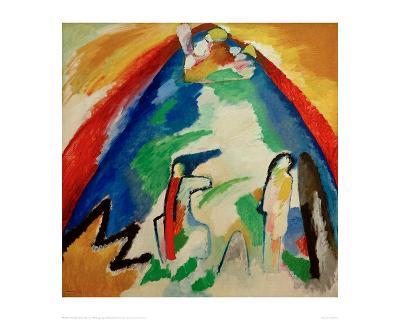 Mountain, 1909-Wassily Kandinsky-Giclee Print