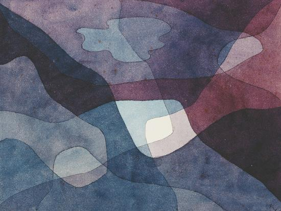 Mountain and Synthetic Air-Paul Klee-Giclee Print