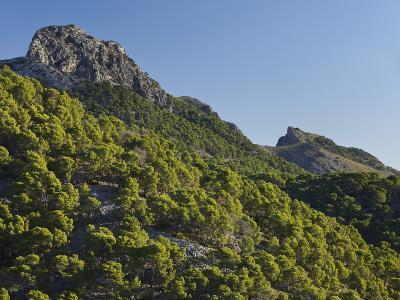 Mountain Coll De Les Fontanelles, Cap De Formentor, Majorca, Spain-Rainer Mirau-Photographic Print