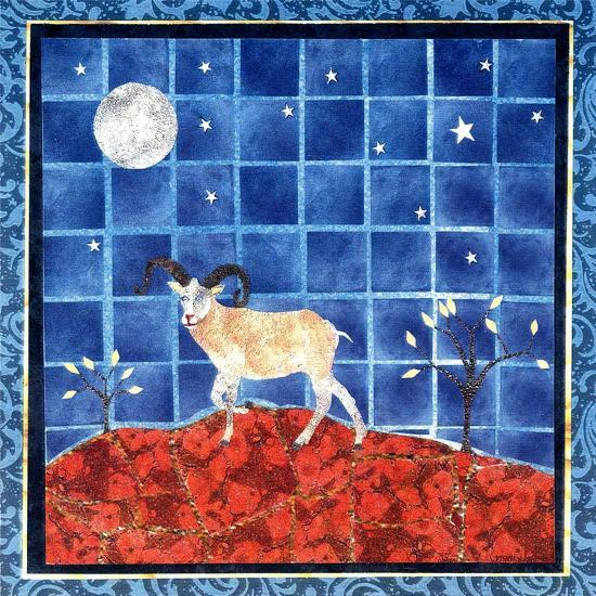 Mountain Goat-David Sheskin-Giclee Print