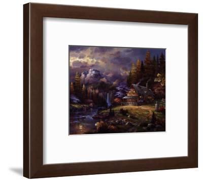 Mountain Hideaway-James Lee-Framed Art Print