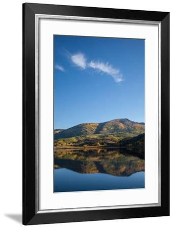 Mountain Lake with Reflections, Colorado-Karen Desjardin-Framed Photographic Print