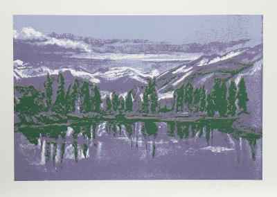 Mountain Lake-John Healy-Limited Edition