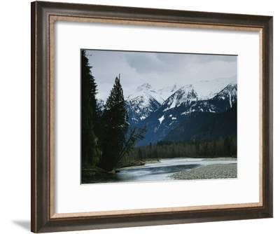 Mountain Landscape in Alaska-Klaus Nigge-Framed Photographic Print