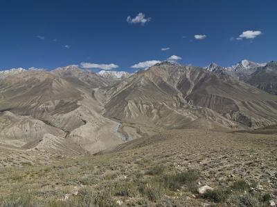 Mountain Landscape of the Hindu Kush, Wakhan Corridor, Afghanistan-Michael Runkel-Photographic Print