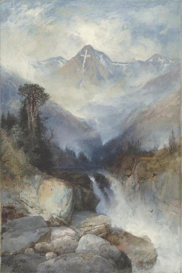 Mountain of the Holy Cross, 1890-Thomas Moran-Giclee Print