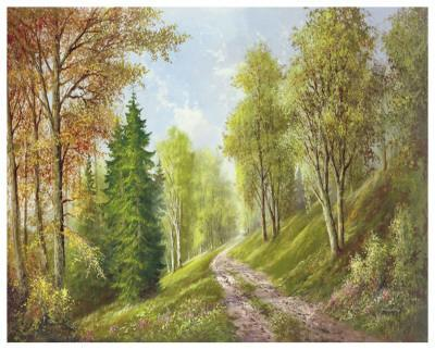 Mountain Path-Helmut Glassl-Art Print