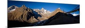 Mountain Peak, Kumuche Himal, Solukhumbu, Himalayas, Nepal