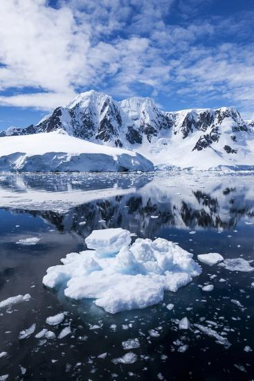 Mountain Peaks, Lemaire Channel, Antarctica--Photographic Print
