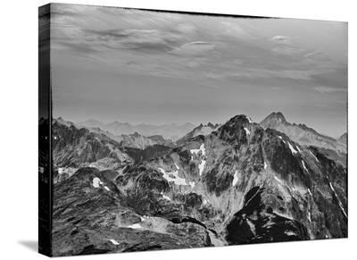 Mountain Peaks-AJ Messier-Stretched Canvas Print