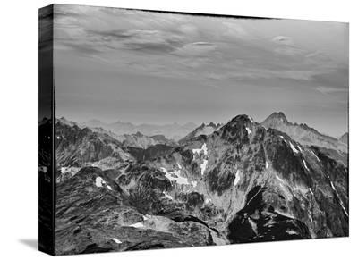 Mountain Peaks-AJ Messier-Stretched Canvas Print